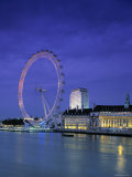 Millennium Wheel, London, England Photographic Print by Rex Butcher