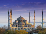 Blue Mosque, Istanbul, Turkey Fotografie-Druck von Peter Adams