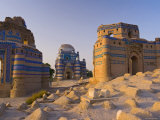 15th Century Mausoleum of Bibi Jawindi, Uch Sharif, Pakistan Photographic Print by Michele Falzone