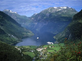 Geiranger Fjord, Western Fjords, Norway Photographic Print by Gavin Hellier