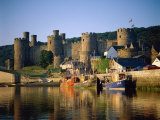 Conwy Castle and River Conwy, Wales Photographic Print by Steve Vidler