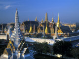 Wat Phra Kaeo, Grand Palace, Bangkok, Thailand Photographic Print by Gavin Hellier