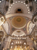 Suleymaniye Mosque, Istanbul, Turkey Photographic Print by Jon Arnold