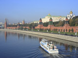 Kremlin and Moskva River, Moscow, Russia Photographic Print by Ivan Vdovin