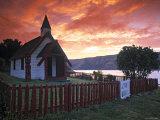 Onuku Marae, Akaroa, Banks Peninsula, South Island, New Zealand Photographic Print by Doug Pearson