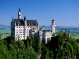 Neuschwanstein Castle, Bavaria, Germany Photographic Print by Steve Vidler
