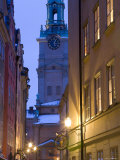 Storkyrkoboden Church, Gamla Stan, Stockholm, Sweden Fotografie-Druck von Peter Adams