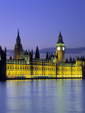 Houses of Parliament, London, England Photographic Print by Rex Butcher