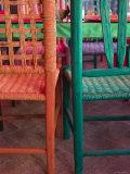 Cafe Detail, Old Mazatlan, Mazatlan, Sinaloa State, Mexico Photographic Print by Walter Bibikow