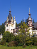 Royal Palace, Peles Castle, Sinaia, Carpathian Mountains, Transylvania, Romania Photographic Print by Gavin Hellier
