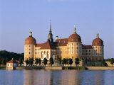 Moritzburg Castle, Dresden, Saxony, Germany Photographic Print by Steve Vidler