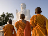 The Great Seated Buddha at Mihintale, Mihintale, Sri Lanka Photographic Print by Gavin Hellier