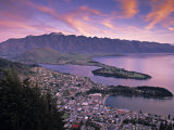 Queenstown, Lake Whakatipu, New Zealand Photographic Print by Doug Pearson