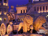 Plaza de Cibeles, Cibeles Fountain, Madrid, Madrid, Spain Photographic Print by Steve Vidler