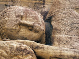 Buddha Statue, Parinirvana, Sri Lanka Photographic Print by Peter Adams