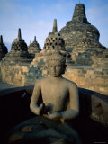Borobudur Temple, Java, Indonesia Photographic Print by Steve Vidler