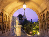 Buda, Fishermen&#39;s Bastion, Budapest, Hungary Photographic Print by Steve Vidler