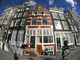 Canalside Buildings, Amsterdam Photographic Print by Peter Adams