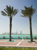 Manama Skyline from Muharraq, Manama, Bahrain Photographic Print by Walter Bibikow