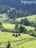 Landscape of Carpathians, Zakarpattia Oblast, Transcarpathia, Ukraine Fotografie-Druck von Ivan Vdovin