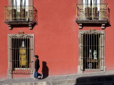 Old Colonial Streets, San Miguel de Allende, Guanajuato State, Mexico Photographic Print by Michele Falzone