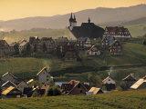 Kluszkowce, Carpathian Mountains, Poland Photographic Print by Walter Bibikow