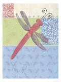 Dragonfly Giclee Print by Joey Brown