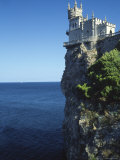 Swallows Nest, Yalta, Crimea, Ukraine Fotografie-Druck von Ivan Vdovin