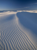 White Sands National Park, Sand Dunes, New Mexico, USA Photographic Print by Steve Vidler