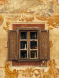 Window Detail, Bardejov, Saris Region, East Slovakia Photographic Print by Walter Bibikow