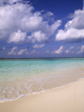 Tropical Beach at Maldives, Indian Ocean Photographic Print by Jon Arnold
