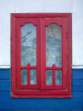 Red Window, Danube Delta, Romania Photographic Print by Russell Young