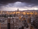 Sana'a, Yemen Photographic Print by Peter Adams