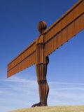 Angel of the North, Gateshead, Northumberland, England Photographic Print by Peter Adams