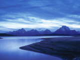 Jackson Lake, Grand Teton National Park, Wyoming, USA Photographic Print by Walter Bibikow