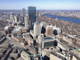Back Bay, Boston, Massachusetts, USA Photographic Print by John Coletti