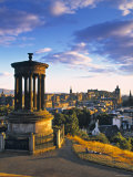 Stewart Monument, Calton Hill, Edinburgh, Scotland Photographic Print by Doug Pearson