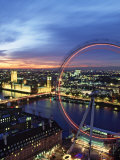 London Eye, London, England Photographic Print by Doug Pearson