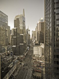 Broadway Looking Towards Times Square, Manhattan, New York City, USA Photographic Print by Alan Copson