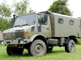 Unimog Truck of the Belgian Army Photographic Print by Stocktrek Images