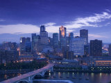 Skyline of Minneapolis, Minnesota, USA Photographic Print by Walter Bibikow