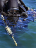Navy Seal Combat Swimmer Photographic Print by Stocktrek Images