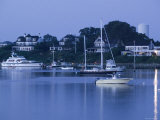 Inner Harbour, Edgar Town, Martha's Vineyard, Massachusetts, USA Photographic Print by Walter Bibikow