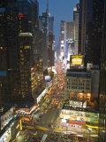 Broadway Looking Towards Times Square, Manhattan, New York City, USA Fotografie-Druck von Alan Copson