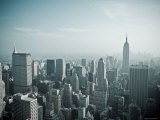 Manhattan Skyline Including Empire State Building, New York City, USA Photographic Print by Alan Copson