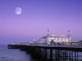 Palace Pier, Brighton, East Sussex, England Photographic Print by Rex Butcher