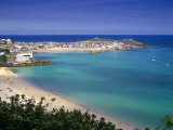 Porthminster Beach, St. Ives, Cornwal, England Photographic Print by Gavin Hellier