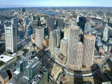 Aerial View of Downtown Boston, Massachusetts, USA Photographic Print by John Coletti