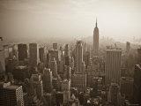 Manhattan Skyline Including Empire State Building, New York City, USA Fotodruck von Alan Copson