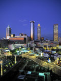 Downtown Skyline of Atlanta, Georgia, USA Photographic Print by Walter Bibikow
